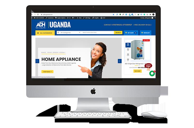 adh uganda website designers